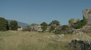 Stock Video Footage of Paestum Remains of The Past