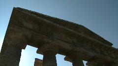 Paestum Columns 2 Stock Footage