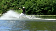 Wakeboarding Stock Footage