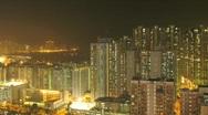 Time lapse Mong Kok Stock Footage