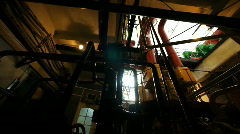 Interior of power station 2 Stock Footage