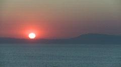 Sunset Mediterranean 3 Stock Footage