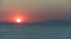 Sunset Mediterranean 2 Stock Footage