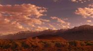 Sierra Nevada Mountains HD720 02  Timelapse Sunset x2 Stock Footage