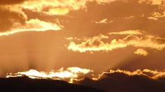 Sierra Nevada Mountains HD720 04  Timelapse Sunset x5 Stock Footage