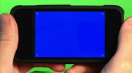 Stock Video Footage of Blank Portable Media Player 1803