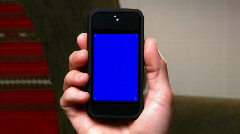 Blank Smartphone 1805 Stock Footage