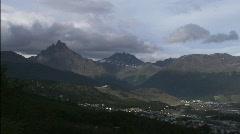 Landscape Ushuaia 6 Stock Footage