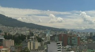 Time lapse Quito Stock Footage