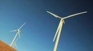 Stock Video Footage of Three Windmills