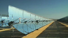 Solar Panel Field Stock Footage