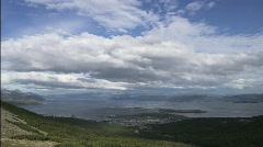 Landscape Ushuaia Stock Footage