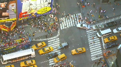 Time lapse New York City - stock footage