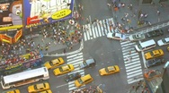 Stock Video Footage of Time lapse New York City
