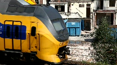 Train close up Stock Footage