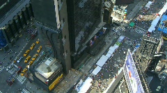 Time lapse Times Square Stock Footage