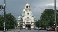 Stock Video Footage of St. Alexander Nevsky cathedral