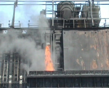 Manufacture of metallurgical coke Stock Footage