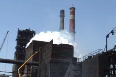Koksohimichesky factory Stock Footage