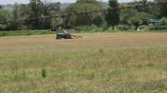 Tractor on Farm 2 Stock Footage