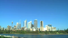 Sydney City Skyline Stock Footage