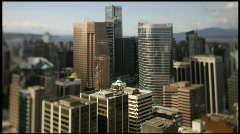 Time lapse  skyline shadows coulds 7D Shift+Tilt Stock Footage