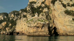 Ligthouse on the Cliffs 4 Stock Footage