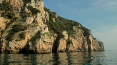 Ligthouse on the Cliffs 5 Stock Footage
