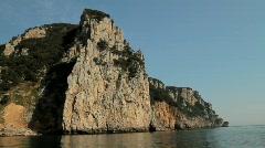 Cliffs near Laredo 2 Stock Footage
