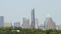 Downtown Austin Skyline Stock Footage