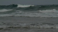 Stormy waves Stock Footage
