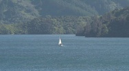 Stock Video Footage of Picton landscape zoom-out, New Zealand
