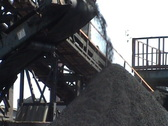Coal sorting Stock Footage