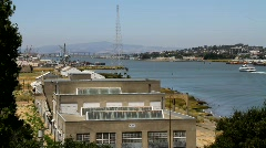 Old Pacific Naval Base Stock Footage