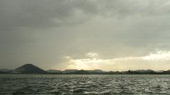 Sailing at santona6 Stock Footage