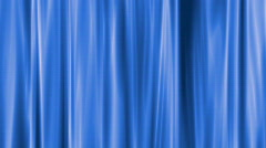 Curtain background, computer generation, seamless loop Stock Footage