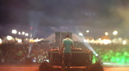 Stock Video Footage of music festival event dj club disco party rave techno entertainment