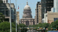 Stock Video Footage of Texas Capitol Renovations