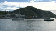 Stock Video Footage of Harbor Picton, New Zealand