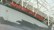 Stock Video Footage of Manchester United Football Club / Old Trafford stadium soccer 1920x1080