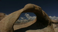 Stock Video Footage of Mount Whitney HD03 Time Lapse Mobius Arch x60 Alabama Hills