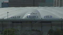 Mall of America Field - stock footage