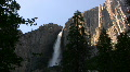 Yosemite HD07 Time Lapse Yosemite Falls Sunset Footage