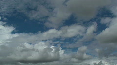 Cloud Mash Time Lapse Stock Footage