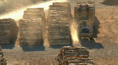 Stock Video Footage of wood factory