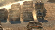 Wood factory Stock Footage