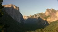 Yosemite HD01 Time Lapse Tunnel Stock Footage