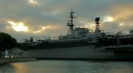 Stock Video Footage of USS Midway | Time Lapse | San Diego, CA
