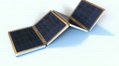 Solar Gadgets - stock footage
