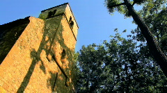 Saint Michael Chapel in Budapest Hungary 2 Stock Footage